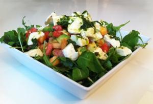 Melonen-Avocado Salat - vegetarisches Sommer-Rezept