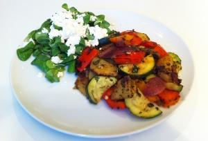 Kartoffel-Gemüse-Pfanne - vegetarische Rezepte